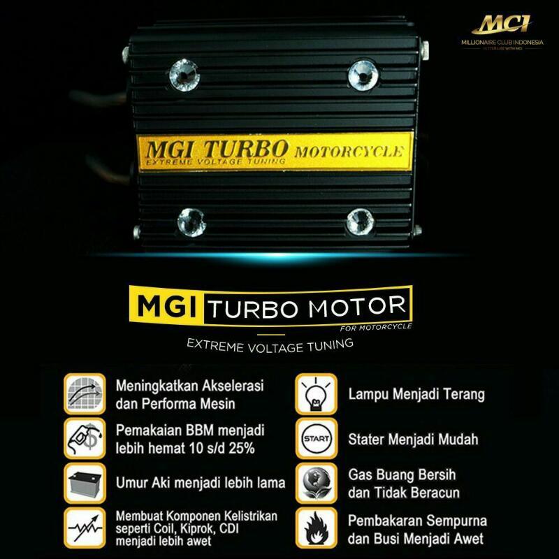 MGI turbo motor