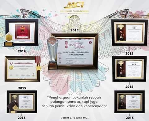 Penghargaan MCI