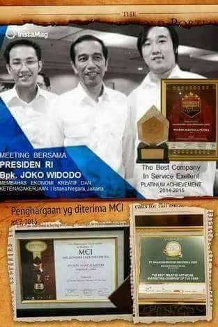 MCI dan presiden Jokowi