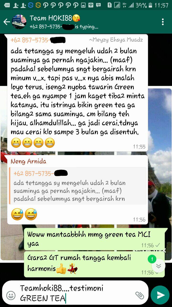 Testi greentea 2