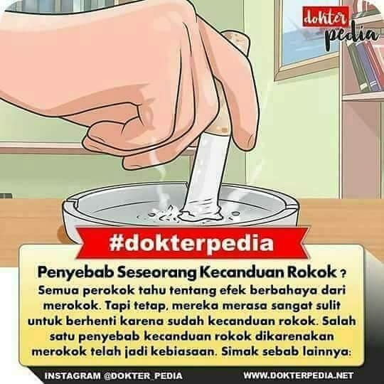 Penyebab rokok