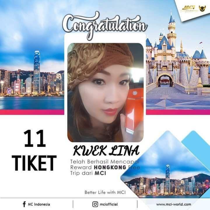 11 tiket Hongkong