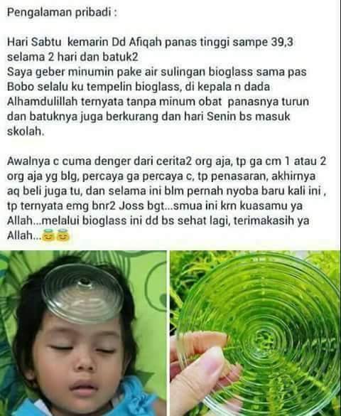 Bioglass kejang anak
