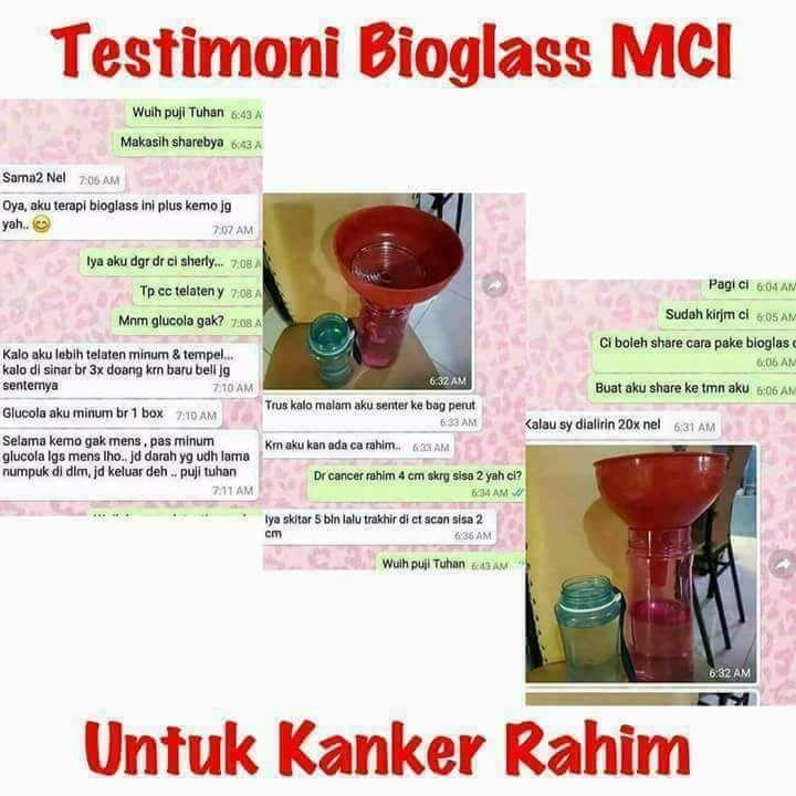 Bioglass kanker rahim