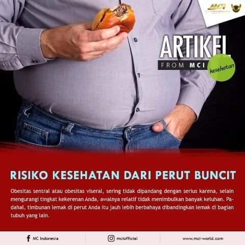 Soshin, diet, perut buncit