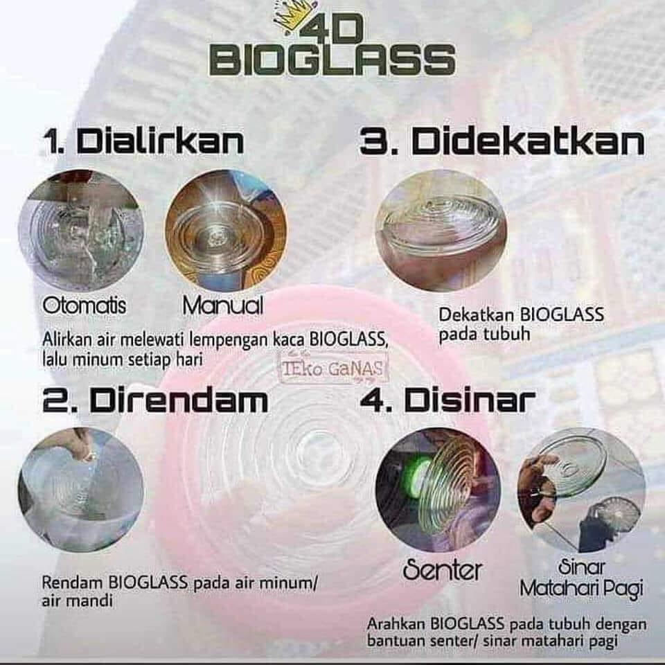 4D bioglass