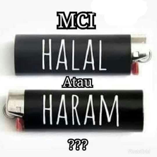 HALAL HARAM MCI
