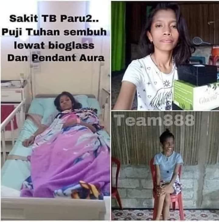 TB PARU-PARU SEMBUH LEWAT BIOGLASS