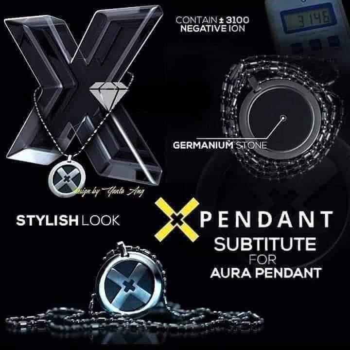 x pendant